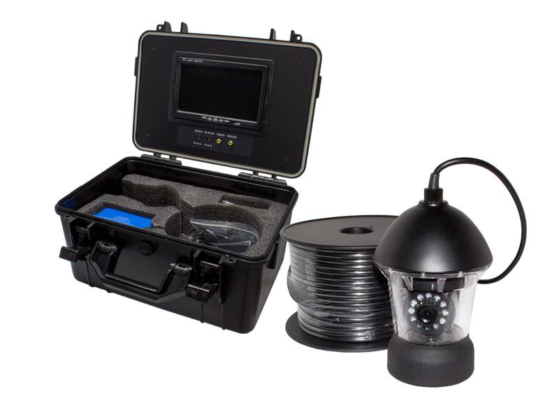 【新品・塚本無線】WTW-WPA40R-9(専用電源付属)・アナログ41万画素 赤外線LED・360度左右旋回機能搭載 水中カメラ ポータブル7インチモニター内蔵ケースセット ご注文後のキャンセルは出来ません。