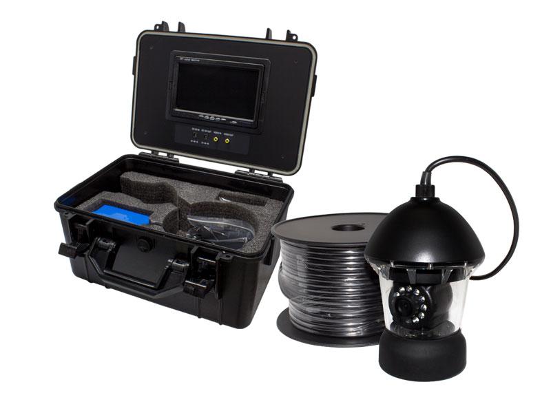 【新品・塚本無線】 WTW-WPA40W-9D(専用電源付属) ・アナログ41万画素 ホワイトLED・360度左右旋回機能搭載・水中カメラ ポータブル7インチモニタ内蔵ケースセットご注文後のキャンセルは出来ません。