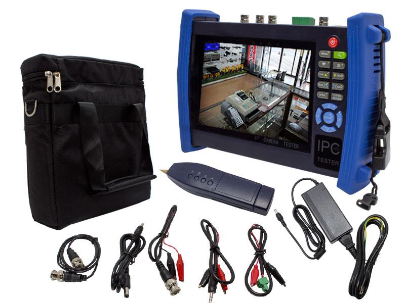【新品・塚本無線】WTW-TM4HAPC(専用充電器、電源アダプター付) HD-SDI/AHD/IPC/CVBS様々な信号規格のカメラに対応 工事用テスター ご注文後のキャンセル、返品、交換(初期不良以外)は出来ません。