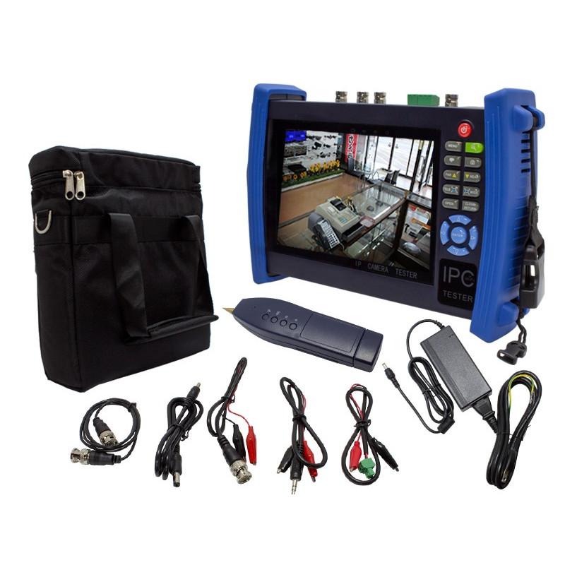 【新品・塚本無線】WTW-TM6HAPC(専用充電器、電源アダプター付) ・HD-SDI/AHD/IPC/CVBS様々な信号規格のカメラに対応 工事用テスター ご注文後のキャンセル、返品、交換(初期不良以外)は出来ません。