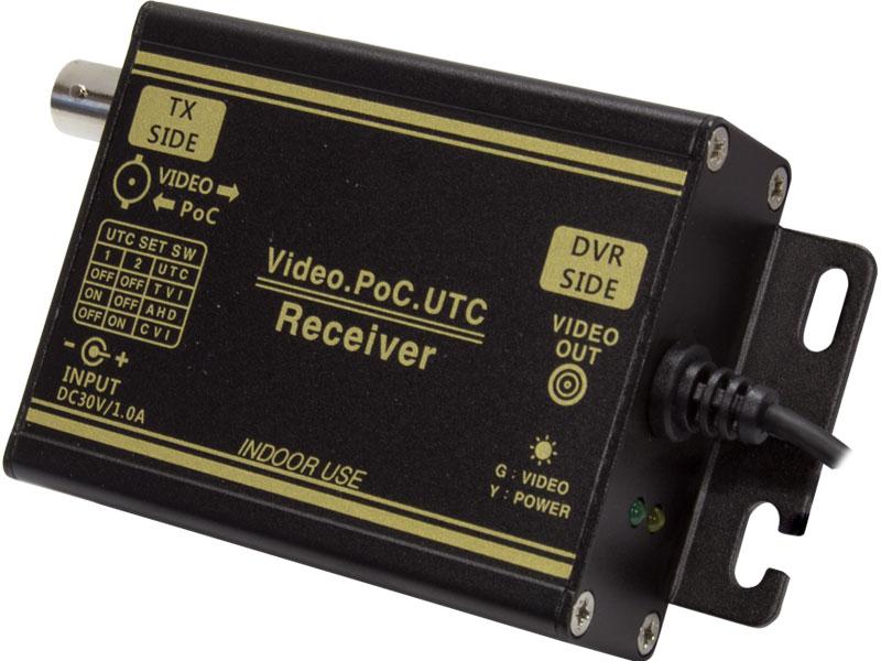 【新品・塚本無線】WTW-MVRP0601U・AHDシリーズ 1CH型 ワンケーブルユニット(電源重畳装置) 受信機単体(送信機用の電源付属します)発注商品の為ご注文後のキャンセル、返品、交換(初期不良以外)は出来ません。