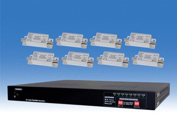 【新品・塚本無線】WTW-LHRP1008(専用電源、IUラックマウント取付金具付) ・ワンケーブルユニット 最長320mまでケーブル延長可能ご注文後のキャンセル、返品、交換は出来ません。