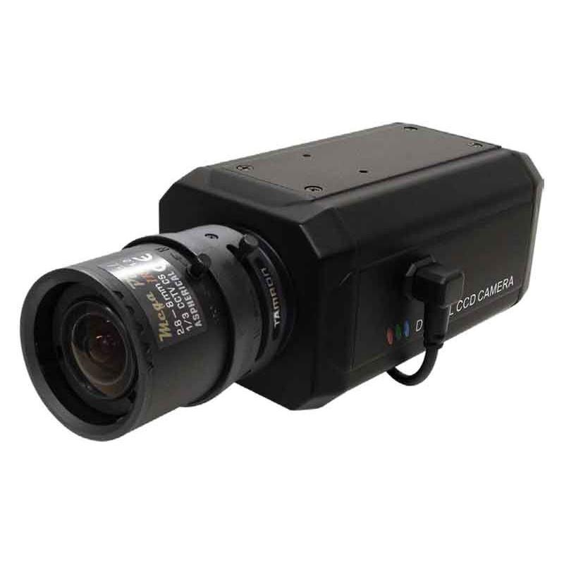 【新品・塚本無線】WTW-VB52(電源アダプター付) ・HD-SDI/EX-SDIカメラシリーズ 220万画素 屋内用 スタンダードボックスカメラ(2.8mm~8mmタムロン製M13VG288IRレンズ搭載セット価格) ご注文後のキャンセル、返品、交換は出来ません。