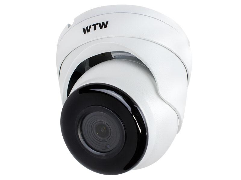 【新品・塚本無線】防犯カメラ 監視カメラ 4Kサイズ撮影可能 AHD高解像度モデル 800万画素 AHDカメラ 小型赤外線ドームカメラ WTW-ADR46EW(電源アダプター付)発注商品の為ご注文後のキャンセル、返品、交換(初期不良以外)は出来ません。
