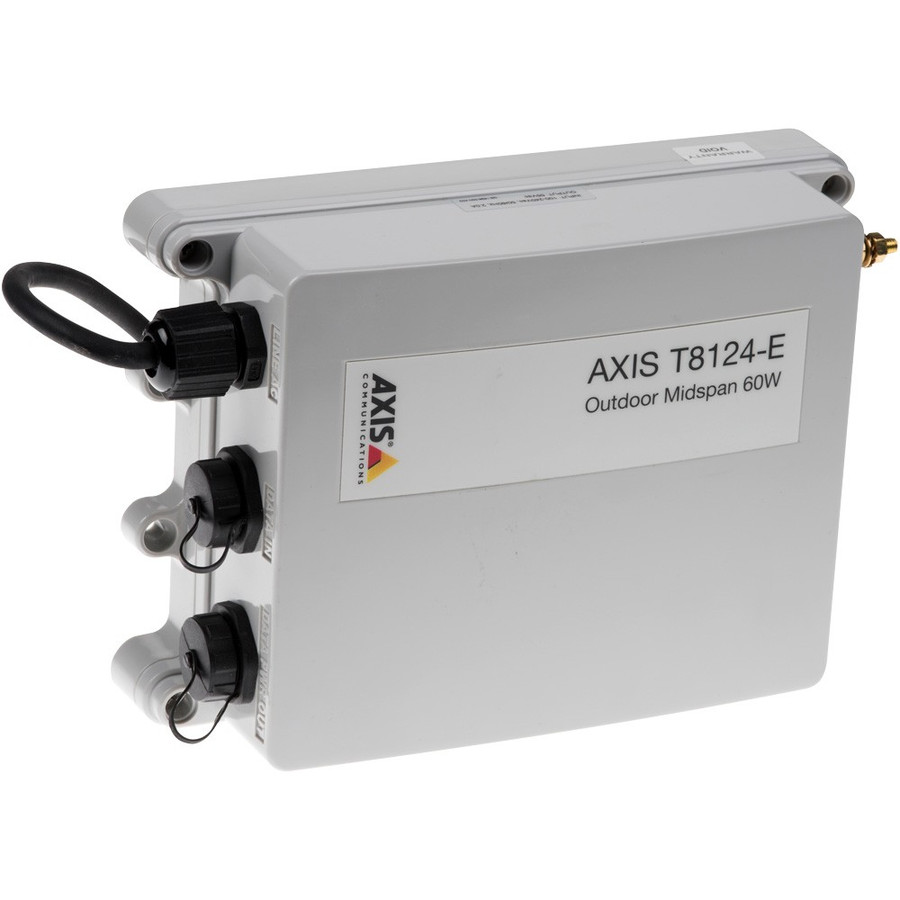 【新品・AXIS】 T-8124-E 屋外ミッドスパン 60W 1ポート 発注商品の為ご注文後のキャンセル、返品(初期不良以外)は出来ません。