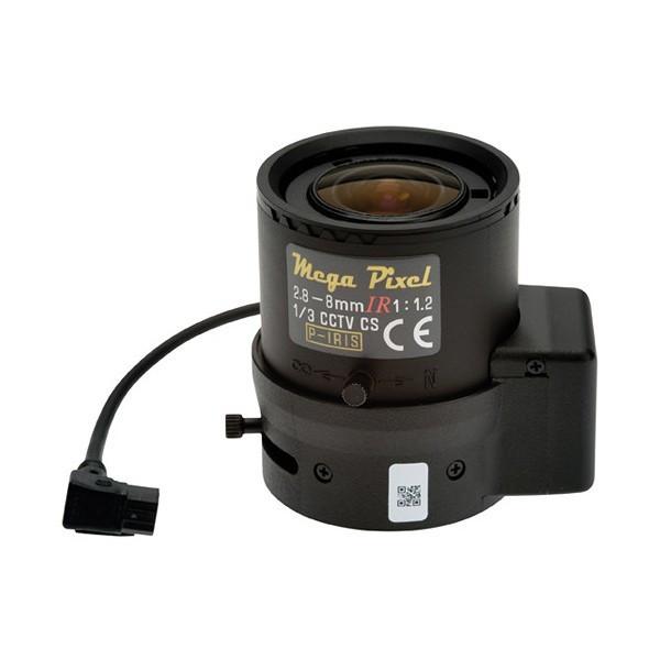 【新品・AXIS】 バリフォーカルレンズ 2.8~8mm F1.2、Pアイリス CSマウント 発注商品の為ご注文後のキャンセル、返品(初期不良以外)は出来ません。
