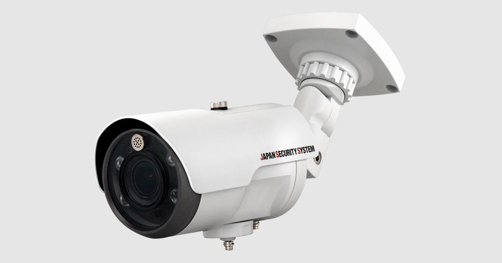 防犯カメラ 限定特価 ネットワークカメラ 新品 JSS製 日本防犯システム 交換は出来ません 電動バリフォーカル JS-CA1020AフルHD対応2メガピクセル屋外IRバレット型ネットワークカメラ おトク 返品 ご注文後のキャンセル