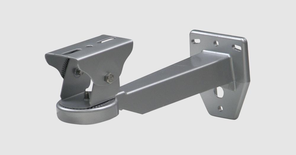【新品・JSS製(日本防犯システム)】PF-EA706屋外壁面取付カメラブラケット(シルバー)ご注文後のキャンセル、返品、交換は出来ません。