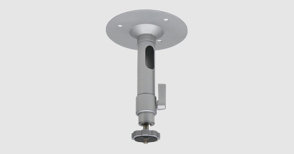 【新品・JSS製(日本防犯システム)】OS-E794屋内カメラ用 天井取付ブラケット(シルバー)ご注文後のキャンセル、返品、交換は出来ません。