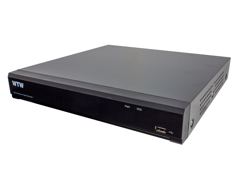 【新品・塚本無線】WTW-NV4016EP-8TB ・IPカメラシリーズ用 ネットワークビデオレコーダー(NVR) 16chモデル ご注文後のキャンセル、返品、交換は出来ません。