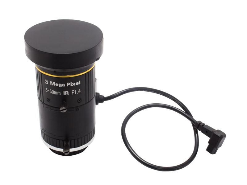 【新品・塚本無線】WTW-LZCA550-3 ・オートアイリス バリフォーカルレンズ 3MP対応 F1.4f=5-50mm CSマウントマニュアルIR発注商品の為ご注文後のキャンセル、返品、交換(初期不良以外)は出来ません。