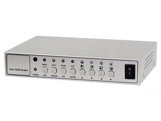 【新品・塚本無線】・WTW-PQ402R ・映像分割器 リモコン付きタイプ 発注商品の為ご注文後のキャンセル、返品、交換(初期不良以外)は出来ません。
