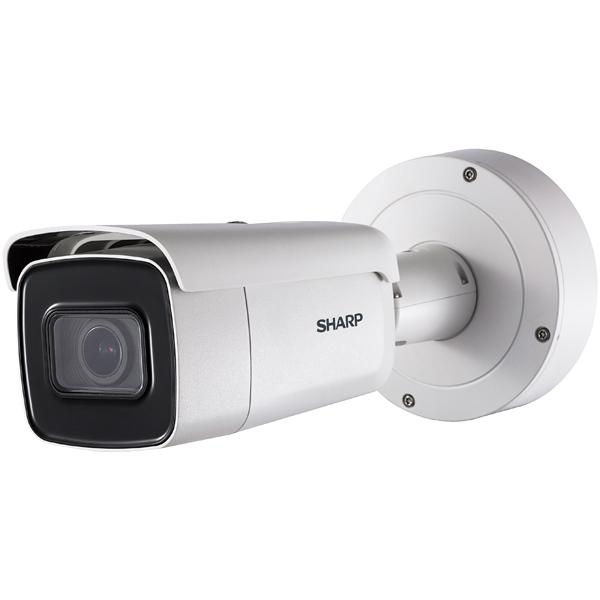 【新品・SHARP製】防犯カメラ 監視カメラ ネットワークカメラ 電動バリフォーカル付き 屋外対応 2メガピクセルバレットカメラ シャープ YK-B021F発注商品の為ご注文後のキャンセル、返品、交換(初期不良以外)は出来ません。