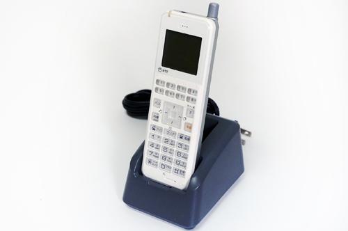 【中古】NTT αN1用 デジタルコードレスセット N1-DCL-PS-(1)(W) 白 マルチゾーンデジタルコードレス電話機 別売のA1-DCL-S(3)CS-(1)などのアンテナと組み合わせて使用