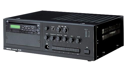 【新品】【UNI-PEX】【ユニット式卓上型アンプ】BX-120DB 構内放送 音響設備