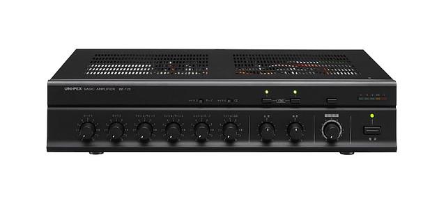 【新品】【UNI-PEX】卓上形ベーシックアンプ BE-120 構内放送 音響設備