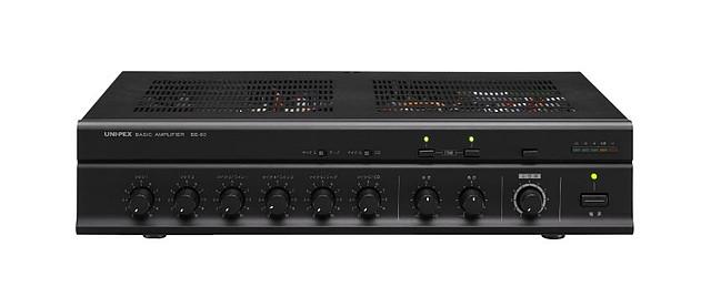 【新品】【UNI-PEX】卓上形ベーシックアンプ BE-60 構内放送 音響設備