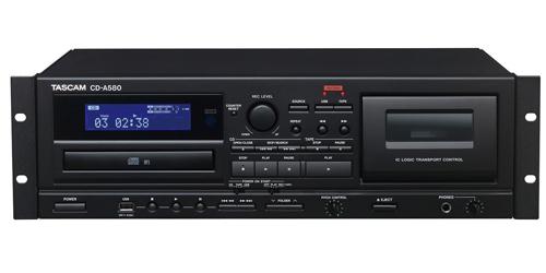 【新品】【UNI-PEX】プレイヤー/レコーダー CD-A580 カセット/USBメモリーレコーダー/CDプレーヤー 構内放送 音響設備