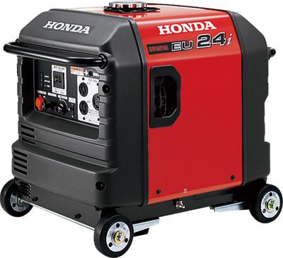 【新品・アツミ(HONDA)電氣製】インバーター式発電機EU24i(車輪あり)発注商品の為ご注文後のキャンセル、返品、交換(初期不良以外)は出来ません。