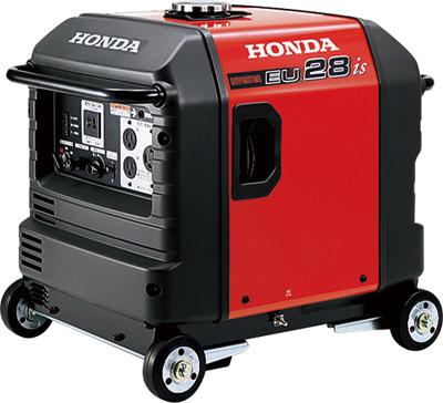 【新品・アツミ(HONDA)電氣製】インバーター式発電機EU28is(車輪あり)発注商品の為ご注文後のキャンセル、返品、交換(初期不良以外)は出来ません。