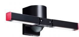 【新品・アツミ電氣(オプテックス)製】センサー調光型LED照明 色:ブラック発注商品の為ご注文後のキャンセル、返品、交換(初期不良以外)は出来ません。