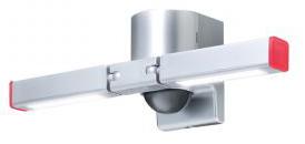 【新品・アツミ電氣(オプテックス)製】センサー調光型LED照明 色:シルバー発注商品の為ご注文後のキャンセル、返品、交換(初期不良以外)は出来ません。