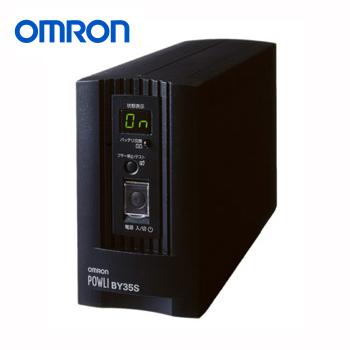 【送料無料】PFC電源搭載のPCにも安心して使える小型・正弦波出力UPS オムロン BY50S