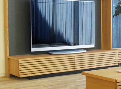和モダン レッドオーク テレビボード 幅210(3170TV) TVボード 160幅以上 モリタインテリア  開梱設置送料無料【TV-YA】 TV テレビ台 [G2] m082- SOK