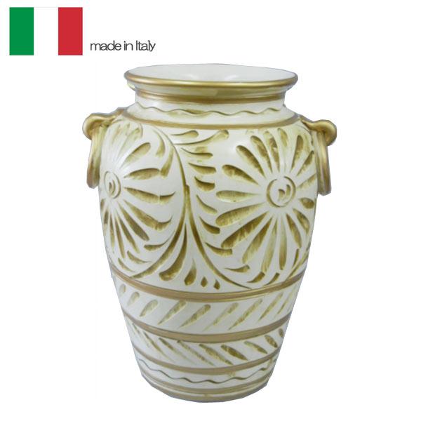 イタリア製 陶器 傘立て 花瓶  送料無料[G2]【ne】