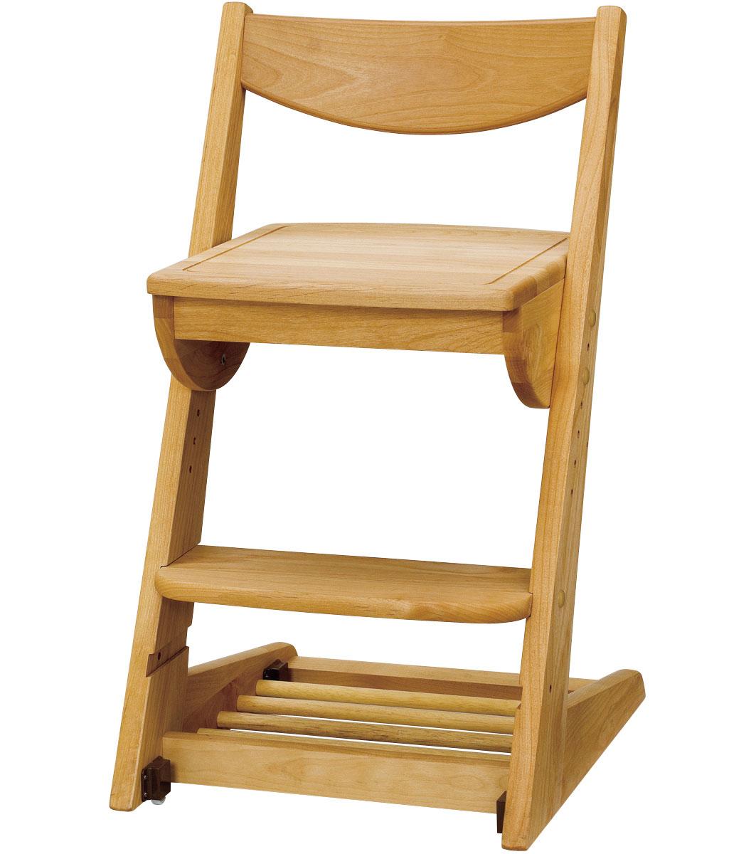 日本製 木の温もりと環境に優しいチェア♪ 健康家具 自然塗料 送料無料 【学習机】【Duckデスク】 堀田木工【PR1】子ども 椅子 子供椅子  No2[G2]【QSM-200】