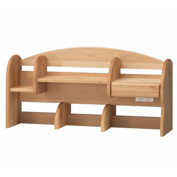 ミドル上棚のみ 日本製 自然風塗料 木の温もりと環境に優しい学習デスク♪ 健康家具 シリーズ専用 学習机用[G2]【sm-200】 t003-m054-dkf-mue