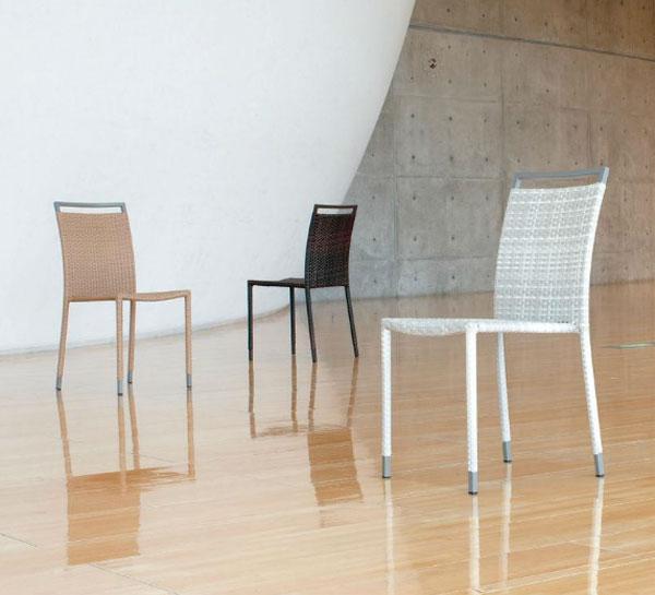 アジアンリゾート スタッキングチェア、椅子、ダイニングチェア 送料無料 【UR3】[G2]【ne-A】