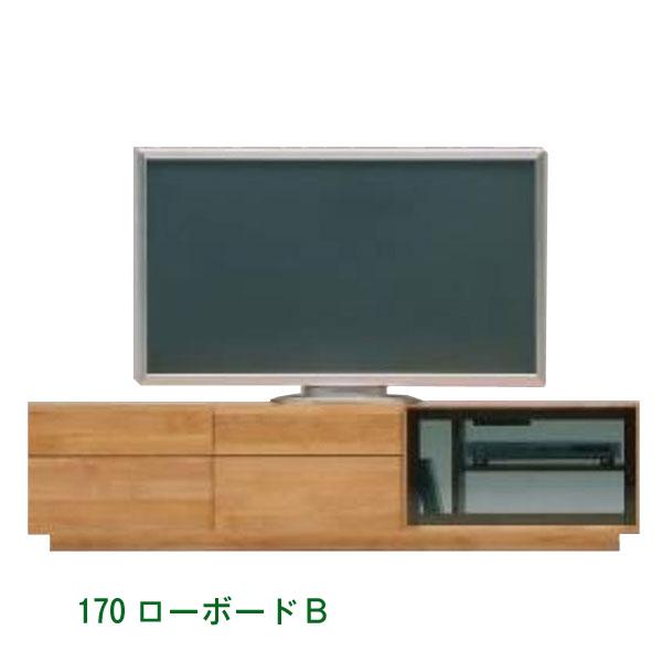 テレビ台(リッツ 170ローボードB) リビングボード 幅170cm ナチュラル 堀田木工 リッツ 日本製【PR1】 GYHC【TV-YA】[G2]