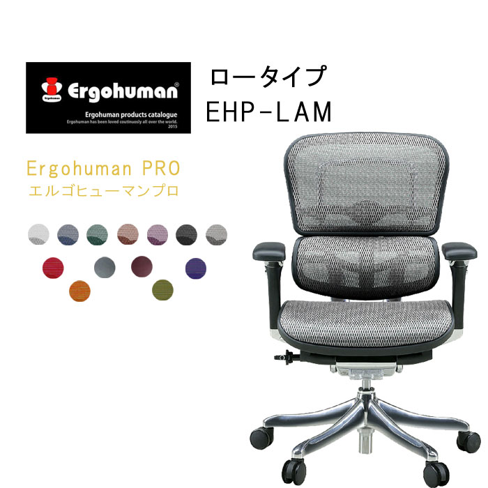 Ergohuman PRO エルゴヒューマンプロ ロータイプ EHP-LAM【Point-10】