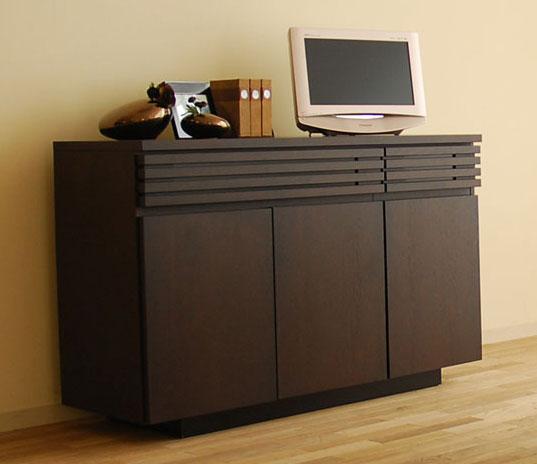 サイドボード 幅125.9(3141サイドM)TVボード SOK[G2] m082- 開梱設置送料無料【AW】リビング収納 和モダン