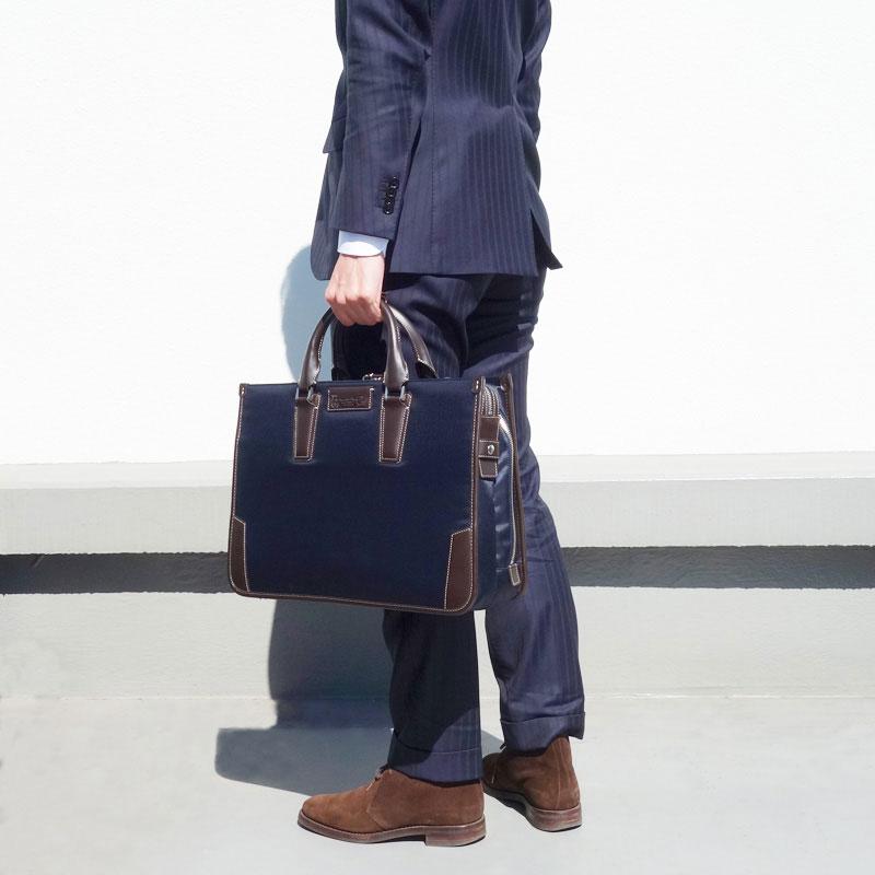 ブリーフケース 幅42cm ピー・アイ・ディー PID 25643 メンズビジネスバッグ ダレスバッグ ビジネスバック ダレスバック カバン 鞄 かばん 送料無料  ビジネスバッグ メンズ父の日 おすすめ 【QSM-100】【2D】