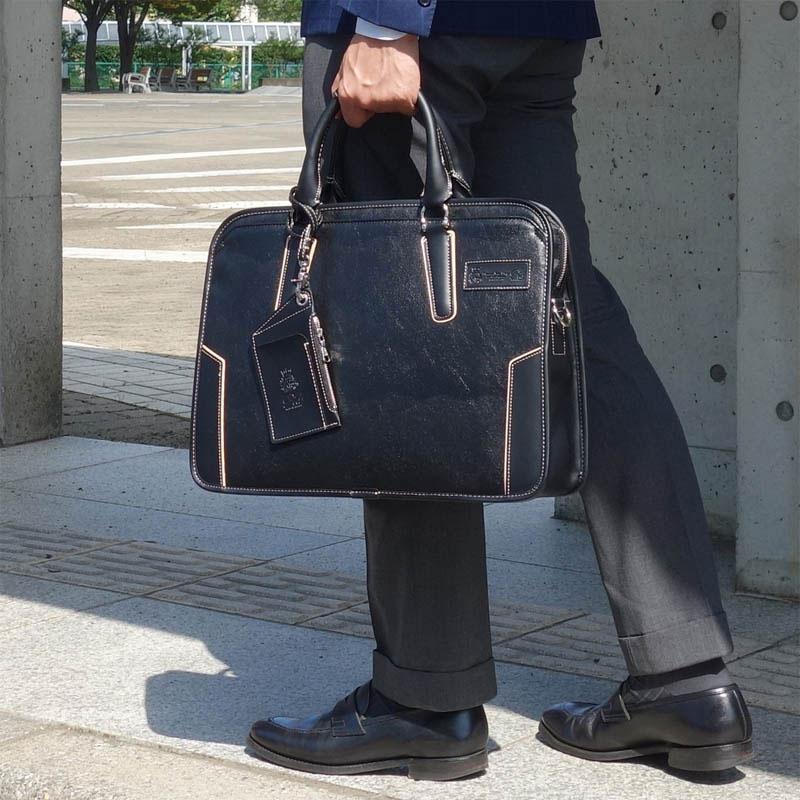 ブリーフケース 幅42cm 合皮 ピー・アイ・ディー PID PIC102 メンズビジネスバッグ ビジネストートバッグ ダレスバッグ ビジネスバック ダレスバック カバン 鞄 かばん 送料無料 PR10 ビジネスバッグ メンズ おすすめ 父の日 お勧め さらに特典付き 【QSM-100】