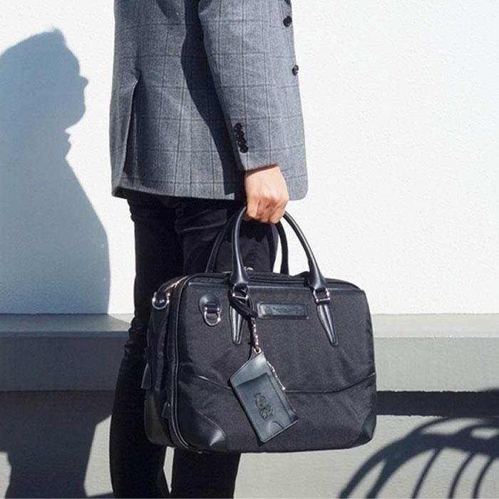 ブリーフケース ビジネスバッグ 2層式 撥水 キャリーオン機能 ビジネスバック 営業 出張 カバン 鞄 かばん バック 送料無料 PR10 男性 メンズ 父の日 おすすめ かっこいい おしゃれ スタイリッシュ さらに特典付き 【QSM-100】