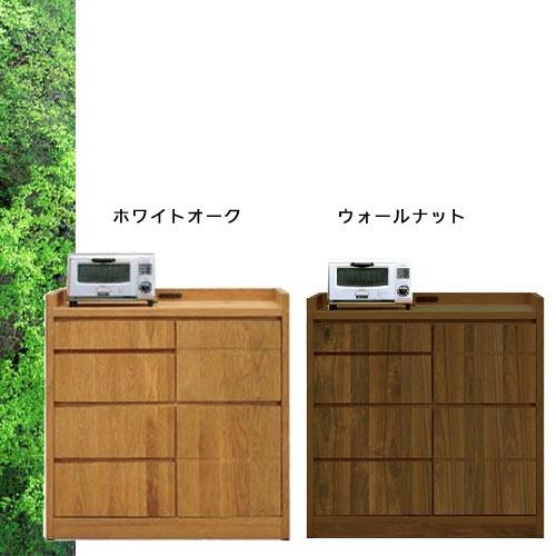 天然木 キッチンカウンター 幅100cm ホワイトオークの落ち着いた SOK【ws】【UR5】[G2]