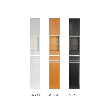すきま収納スリムな木製ラック 幅25cm オープンタイプ (すきまラック、スキマ収納、スキマラック、隙間ラック)[G2]【sm-240】【ne】