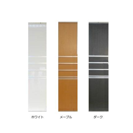 すきま収納スリムな木製ラック 幅40cm 板扉タイプ (すきまラック、スキマ収納、スキマラック、隙間ラック)(soun)[G2]【sm-260】【ne】