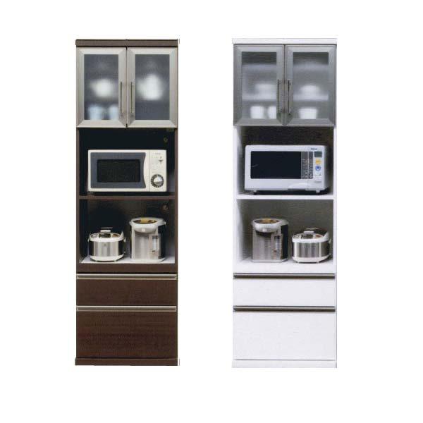 レンジボード 60幅 レンジ台 食器棚 キッチンボード 完成品 SOK【ok】 開梱設置送料無料 [G2]【QOG-80】 t006-m083-