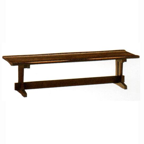 飛騨の家具ナラ無垢材 木楽 ダイニング ベンチチェア (BC-41K) 165cm 送料無料 【さらに表示価格より8%off】イバタダイニング[G2]【ne】