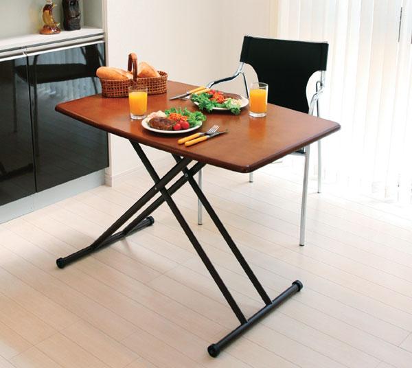 高さ調整が自由なリフティングテーブル リビングテーブル  m006- 【限界価格】【QSM-180】【2D】