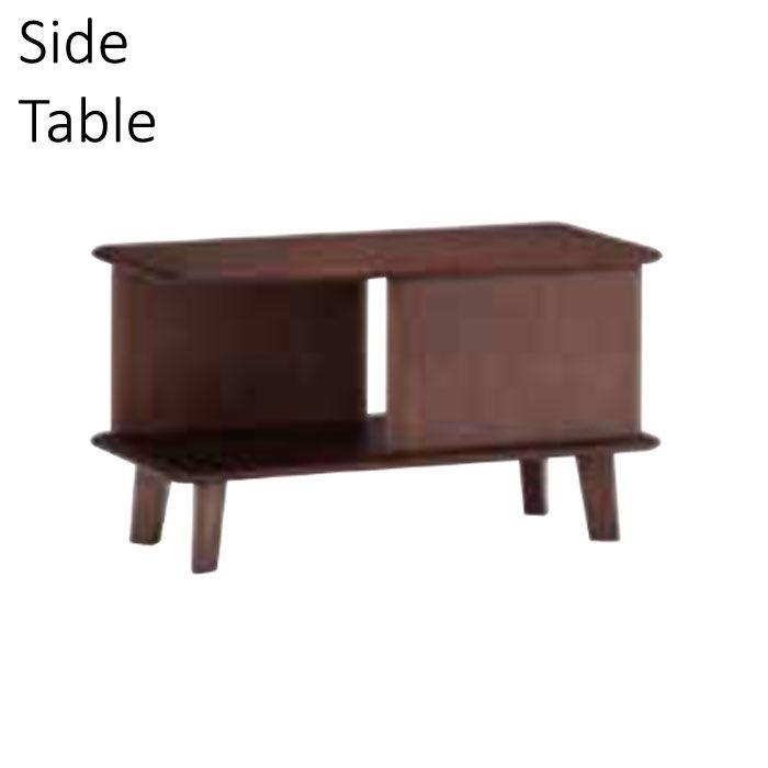 サイドテーブル 幅80cm 棚付き アッシュ材 モダン スタイリッシュ 高級感 重厚感 おしゃれ シンプル ナイトテーブル ローテーブル 机 つくえ ツクエ 【QSM-180】 フランスベッド【2D】