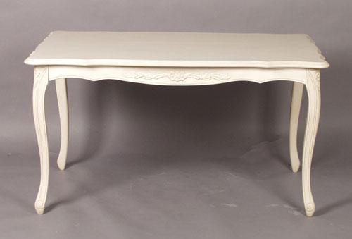 【輸入家具】お姫様ダイニングテーブル155