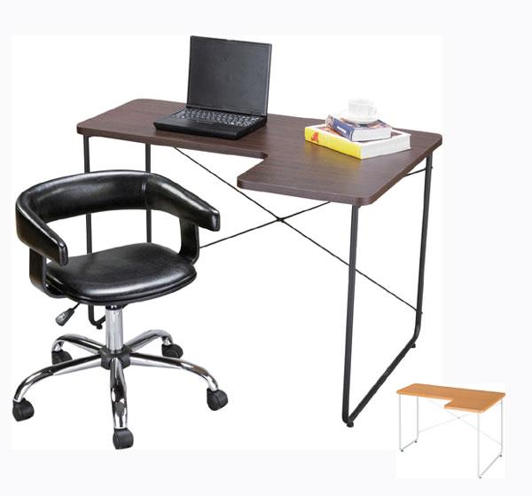 L型 パソコンデスク 幅110cm パソコンデスク オフィスデスク ワークデスク m006- 【限界価格】 【QSM-180】【2D】