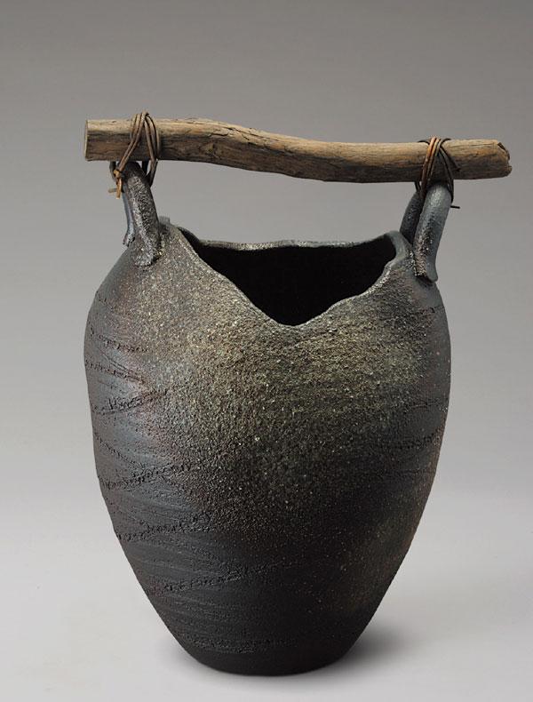 信楽焼 傘立て 壺型流木傘立 信楽焼き 滋賀県 日本の代表的な伝統工芸品「信楽焼」