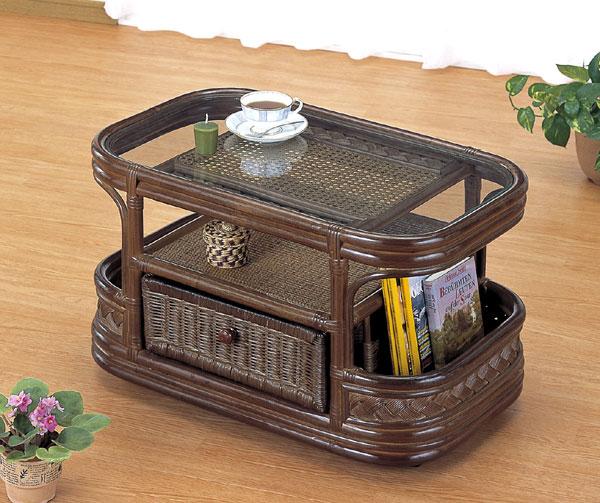 籐センターテーブル   【籐家具】