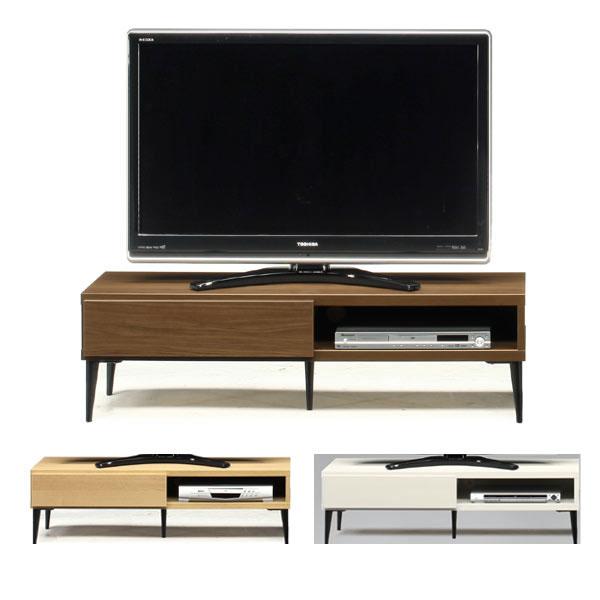 スチール脚のお洒落な 日本製120幅  TV テレビ台 3色 ローボード   シンプルモダン インテリア 家具 TV ミッドセンチェリー GMK-tv